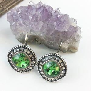 Brighton Emerald Drop Earrings